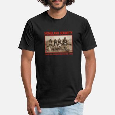 Terrorism Homeland Security-Fighting Terrorism Since 1492 - Unisex Poly Cotton T-Shirt
