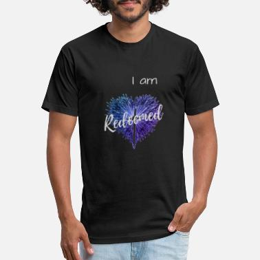 redeemed - Unisex Poly Cotton T-Shirt