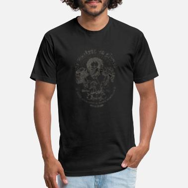 Live Free Or Die No Masters No Slaves - Unisex Poly Cotton T-Shirt