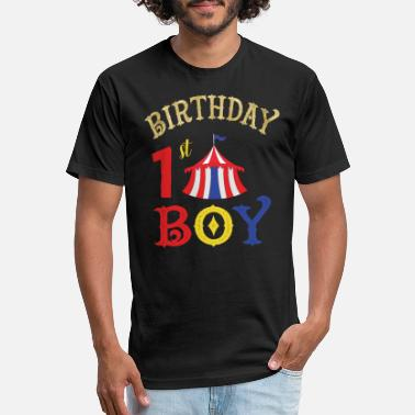 First Birthday First Birthday - Unisex Poly Cotton T-Shirt