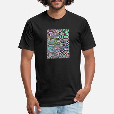 757e8bca13244 Glitch - Unisex Poly Cotton T-Shirt