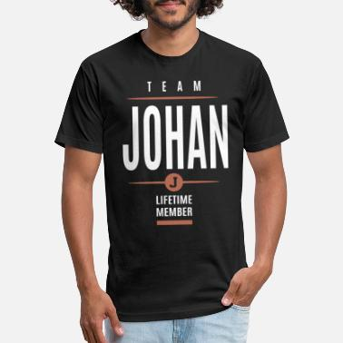 Johan Johan Lifetime Member - Unisex Poly Cotton T-Shirt