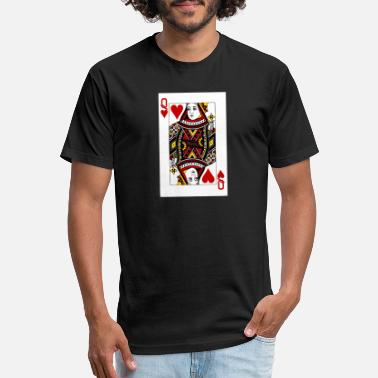 Queen Of Hearts Queen of Hearts - Unisex Poly Cotton T-Shirt