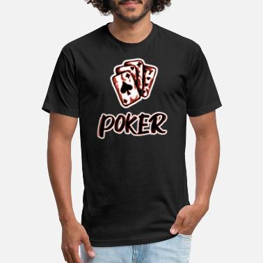 Game Poker Poker All in poker game - Unisex Poly Cotton T-Shirt