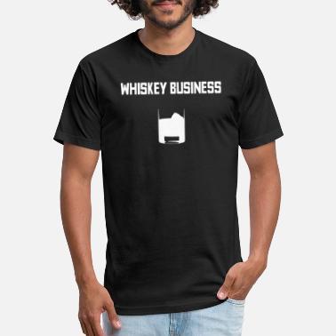 9b9d047f Alcohol Puns Funny Whiskey Whisky Pun Gift - Unisex Poly Cotton T-Shirt