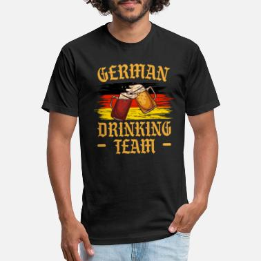 German Oktoberfest Shirt Funny Oktoberfest Costume - Unisex Poly Cotton T-Shirt