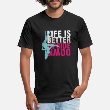 Pole Dance Pole Dancing Dancers Fitness Moves Life Is Better - Unisex Poly Cotton T-Shirt