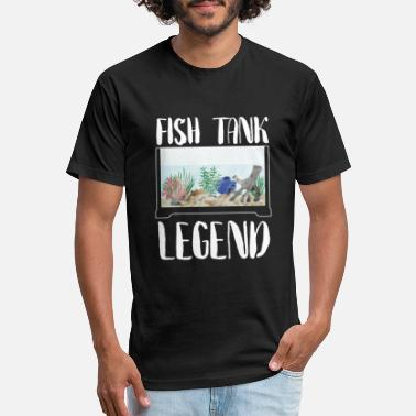Saltwater Fishtank Legend Aquarist Fish Marine Gift - Unisex Poly Cotton T-Shirt