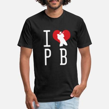I Love Paintball Heart For Paintball Gift - Unisex Poly Cotton T-Shirt