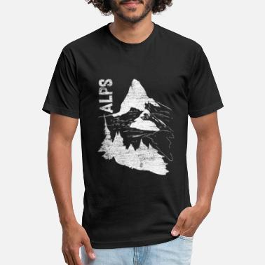 Alps Alps - Unisex Poly Cotton T-Shirt