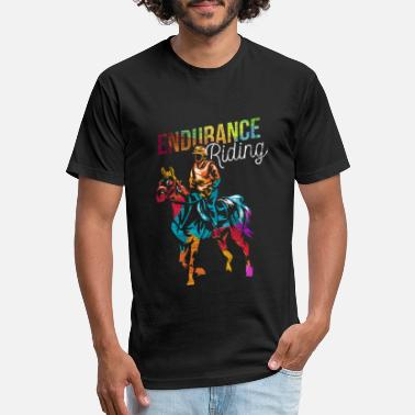 Endurance Endurance Riding Gift - Unisex Poly Cotton T-Shirt