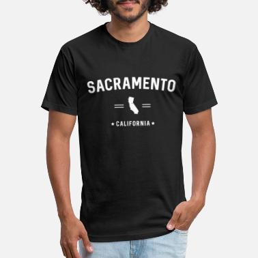 Sacramento Sacramento California - Unisex Poly Cotton T-Shirt
