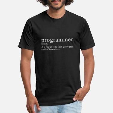 Descriptive Programmer Description - Unisex Poly Cotton T-Shirt