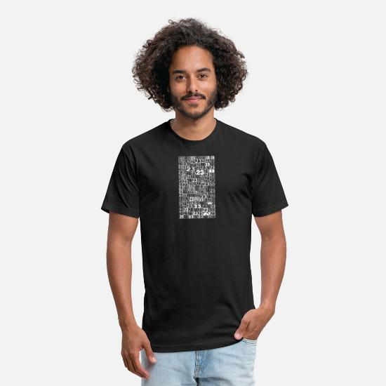 Twentythree T-Shirts - 23WHT - Unisex Poly Cotton T-Shirt black