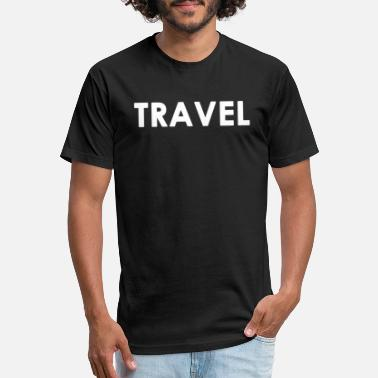Travelling Travel Traveling Traveller Gift - Unisex Poly Cotton T-Shirt