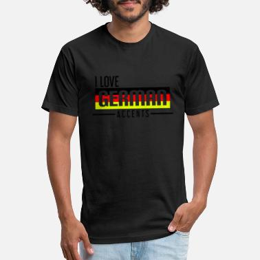 Germanic Tribes German Accent - Unisex Poly Cotton T-Shirt