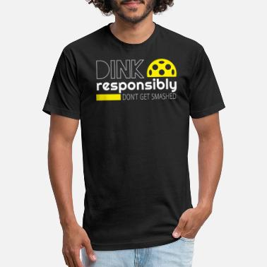 Dink Dink Responsibly - Unisex Poly Cotton T-Shirt