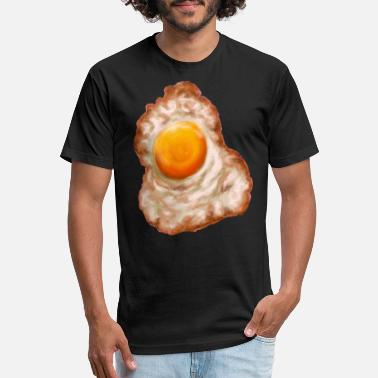 Sunny Side Up Egg Classic T Shirt - Unisex Poly Cotton T-Shirt