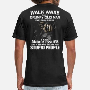 Away Walk away - Unisex Poly Cotton T-Shirt