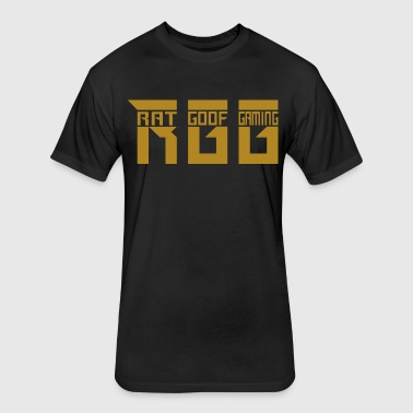RGG gold - Fitted Cotton/Poly T-Shirt by Next Level
