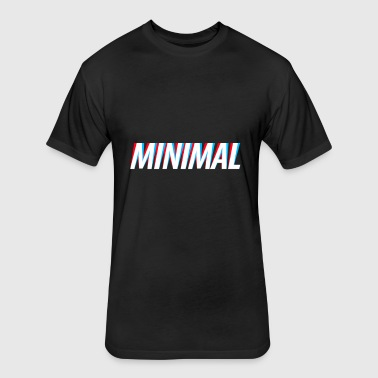 MINIMAL - Fitted Cotton/Poly T-Shirt by Next Level