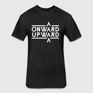 Onward Upward - Fitted Cotton/Poly T-Shirt by Next Level
