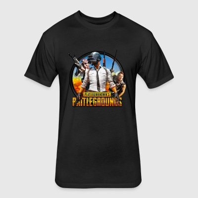 Playerunknowns battlegrounds t-shirts and clothing - Fitted Cotton/Poly T-Shirt by Next Level