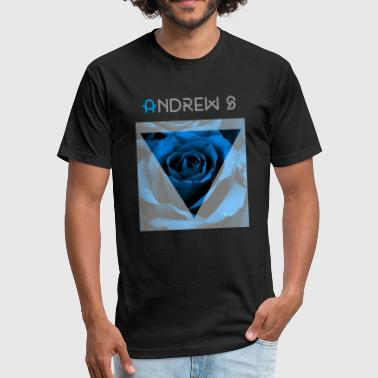 Blue Rose Blue rose - Fitted Cotton/Poly T-Shirt by Next Level