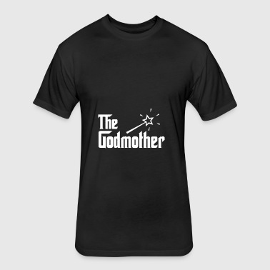 The Godmother - Fitted Cotton/Poly T-Shirt by Next Level