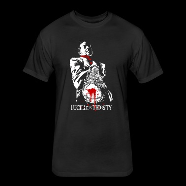 Negan Lucille - Fitted Cotton/Poly T-Shirt by Next Level