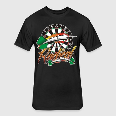 Radical Darts Shirt - Fitted Cotton/Poly T-Shirt by Next Level