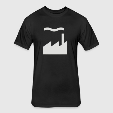Factory Records - Fitted Cotton/Poly T-Shirt by Next Level