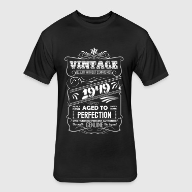 Vintage Aged To Perfection 1949 - Fitted Cotton/Poly T-Shirt by Next Level
