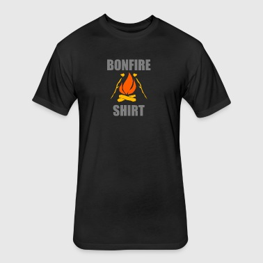 Bonfire Party Fire - Fitted Cotton/Poly T-Shirt by Next Level