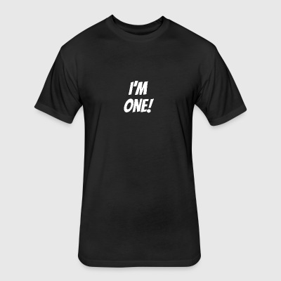 I'm One - Fitted Cotton/Poly T-Shirt by Next Level