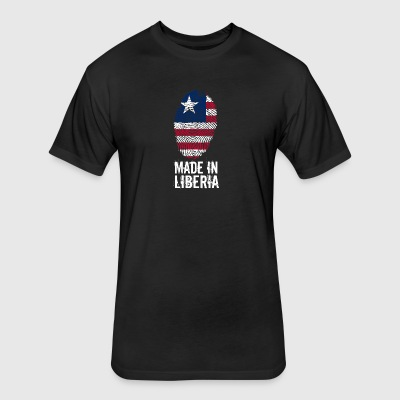 Made In Liberia - Fitted Cotton/Poly T-Shirt by Next Level