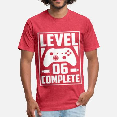 Since 06 Level 06 Complete - Fitted Cotton/Poly T-Shirt by Next Level