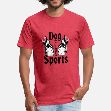 Police Sports Malinois,Police dog,Watchdog,dog sports, - Fitted Cotton/Poly T-Shirt by Next Level