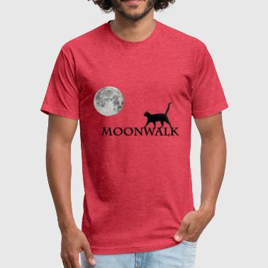 Moonwalk - Fitted Cotton/Poly T-Shirt by Next Level