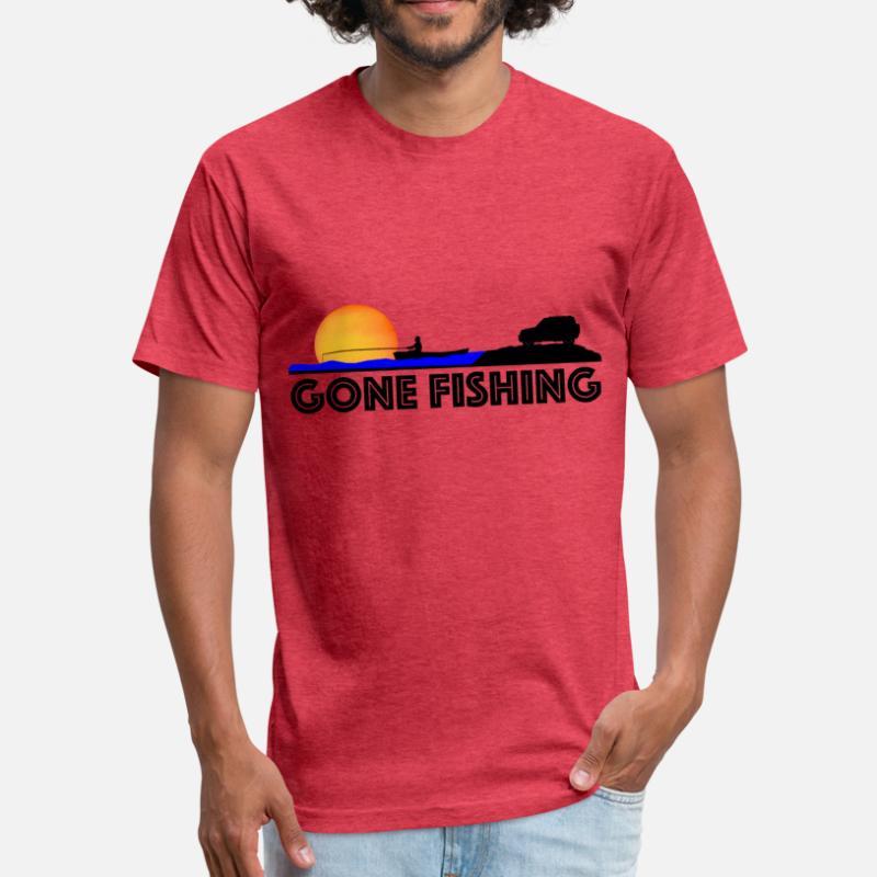 76459da42d Shop Gone Fishing T-Shirts online | Spreadshirt