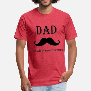 Aze dad az - Fitted Cotton/Poly T-Shirt by Next Level