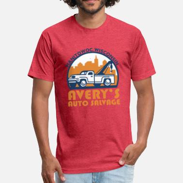 Manitowoc AVERY S AUTO SALVAGE Manitowoc - Fitted Cotton/Poly T-Shirt by Next Level