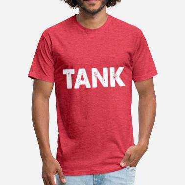 Tank Slogans tank - Fitted Cotton/Poly T-Shirt by Next Level