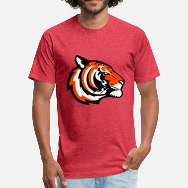 Sports Wild Cat tiger - Fitted Cotton/Poly T-Shirt by Next Level