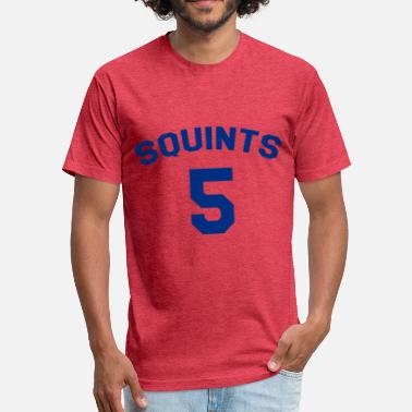 Squint The Sandlot Jersey Squints 5 - Fitted Cotton/Poly T-Shirt by Next Level