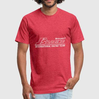 Motor Racing - Fitted Cotton/Poly T-Shirt by Next Level