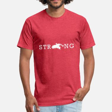 Usvi STRONG STJ USVI - Fitted Cotton/Poly T-Shirt by Next Level