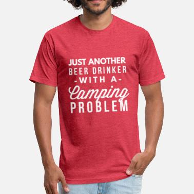 Camping Problem Camping Problem - Fitted Cotton/Poly T-Shirt by Next Level
