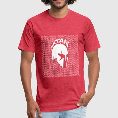 Oh My Spartacus - Fitted Cotton/Poly T-Shirt by Next Level