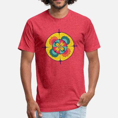 Scoped Color scope - Fitted Cotton/Poly T-Shirt by Next Level